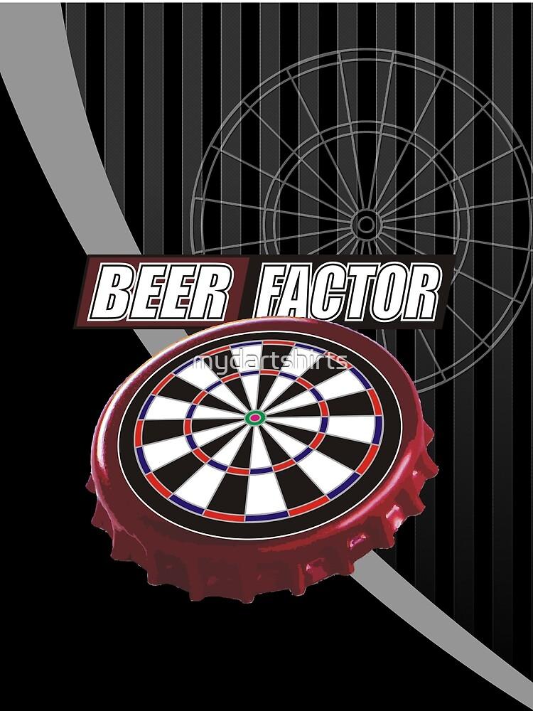 Beer Factor Darts Team by mydartshirts