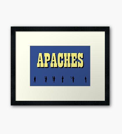 NDVH Apaches Framed Print