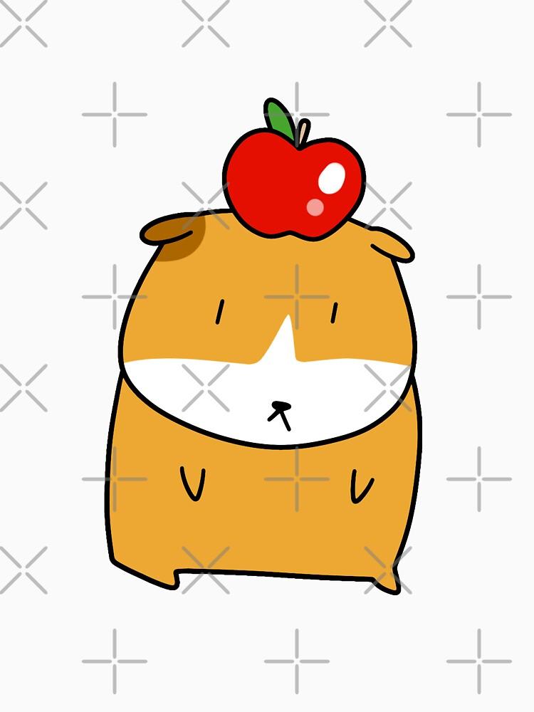 Apple Guinea Pig by SaradaBoru
