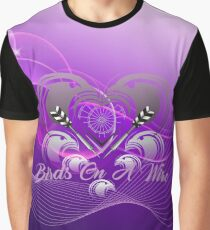 Birds On A Wire Darts Team Graphic T-Shirt