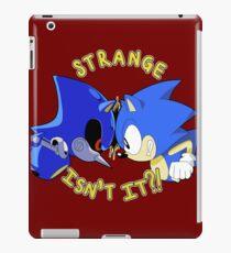 STRANGE, ISN'T IT?! iPad Case/Skin