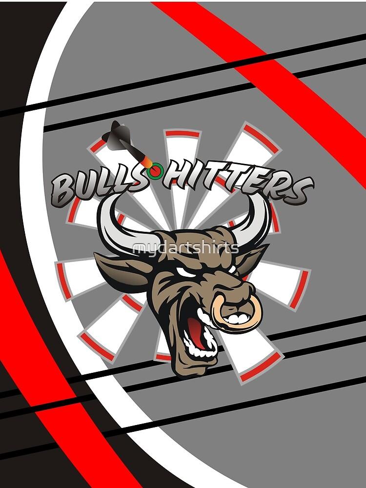 Bull Hitters Darts Team by mydartshirts