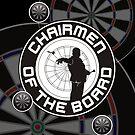 Chairmen Of The Board Darts Team by mydartshirts