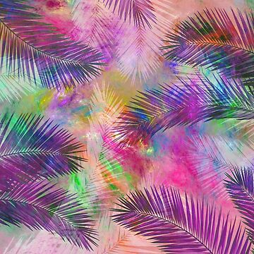Palm leaves by CatyArte