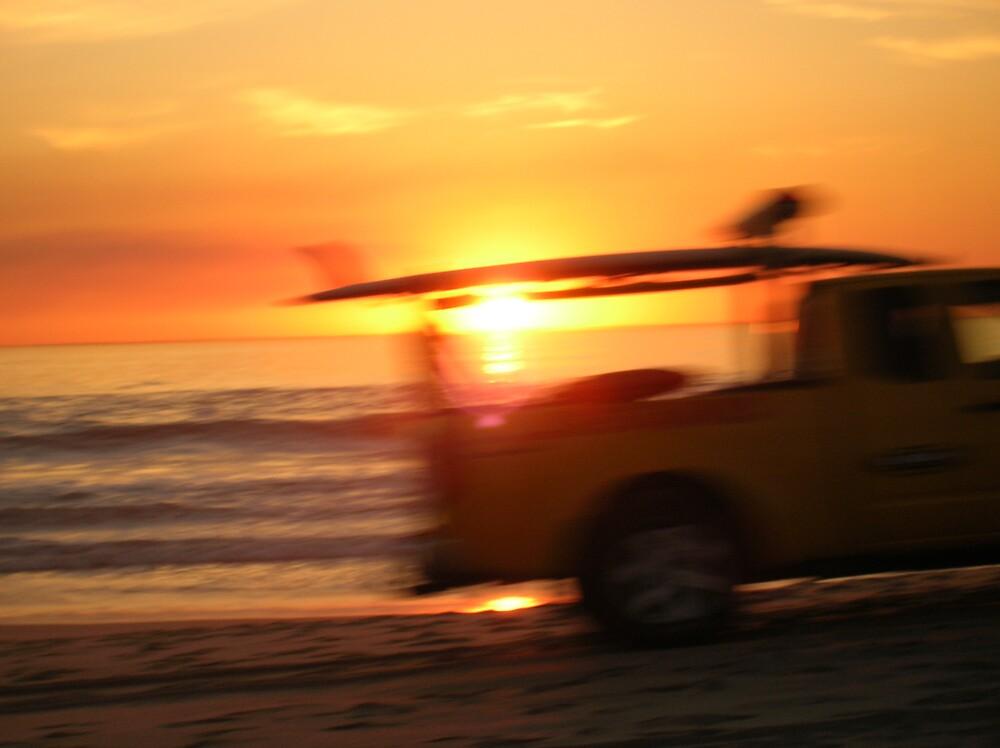 Lifeguard Truck - blur by Jeremy Muratore