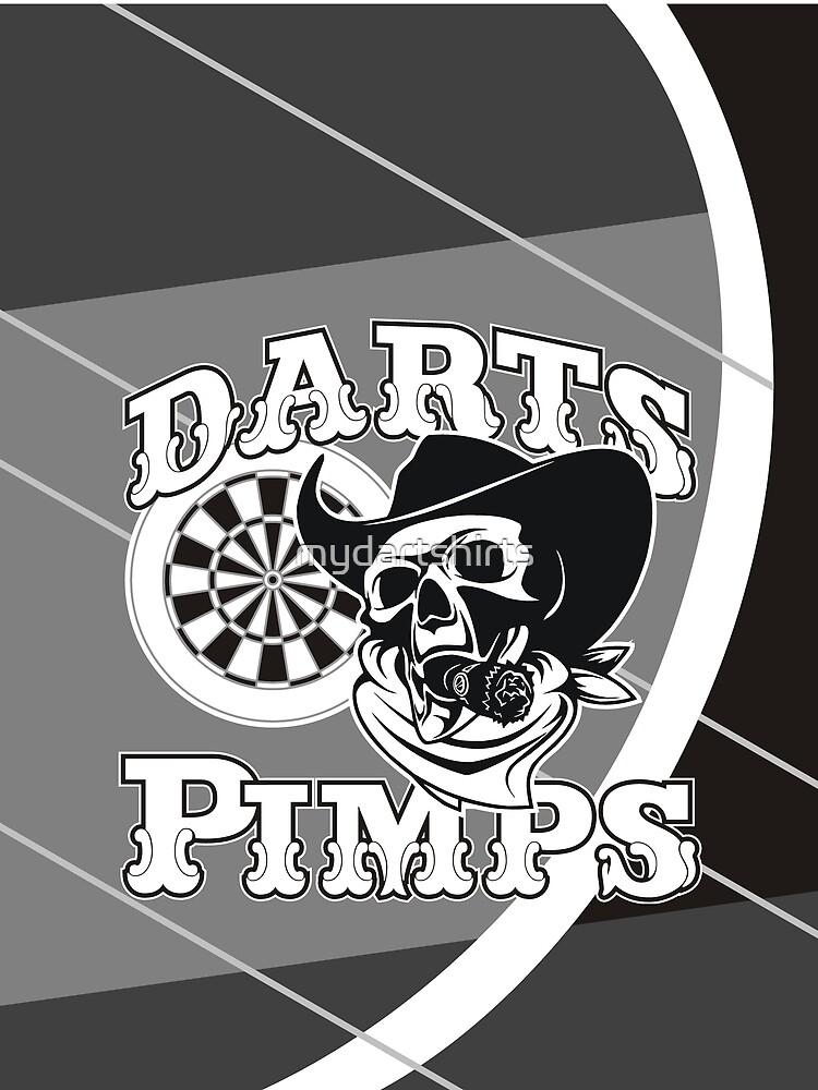 Darts Pimps Darts Team by mydartshirts