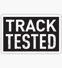 Track Tested Sticker