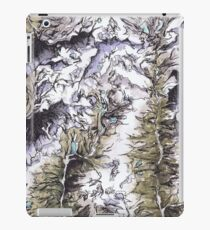Saribung, Nepal - Watercolor and Ink artwork iPad Case/Skin