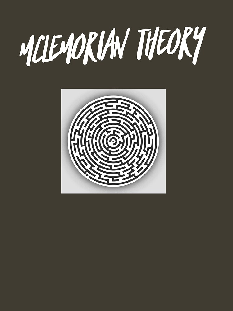 Mclemorian Theory- Great White Labyrinth  by tees4gees