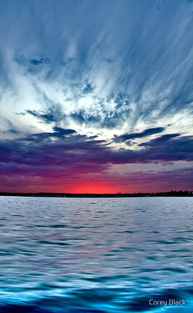 Eve Sunset by Corey Black