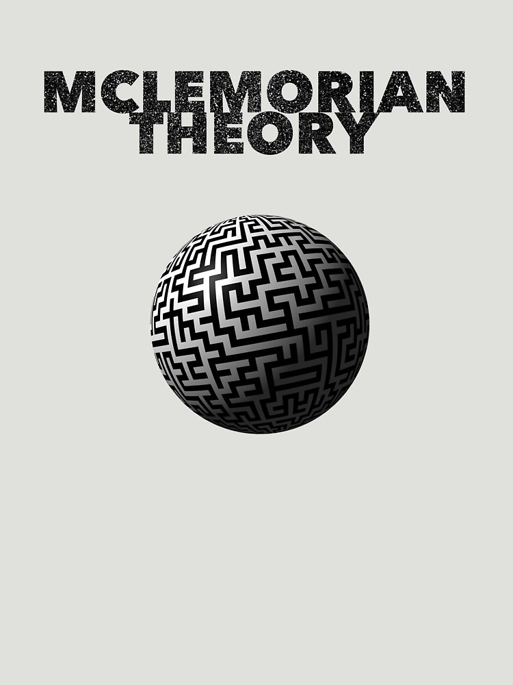 Mclemorian Theory - Faded World Maze by tees4gees