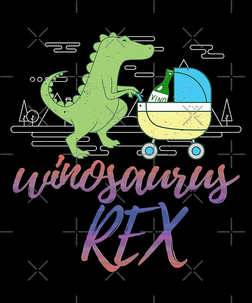 Winosaurus Rex by wrestletoys