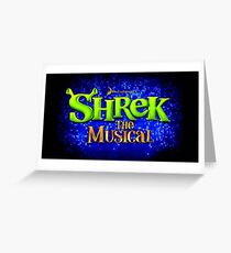 Shrek the Musical Greeting Card