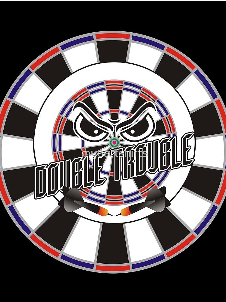 Double Trouble Darts Team by mydartshirts