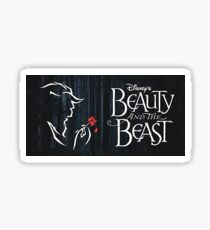 Beauty and the Beast Sticker