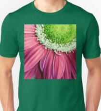 Pink Flower Petals Unisex T-Shirt