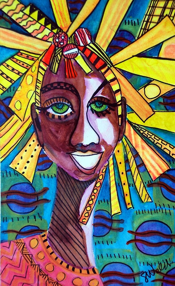 Tribal Vibration by Sharon Welch