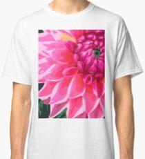 Pink Flower Petals Classic T-Shirt