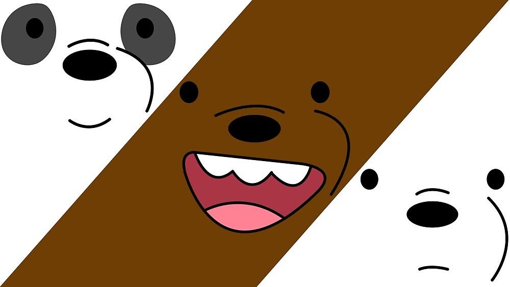 We Bare Bears V by Breqzer