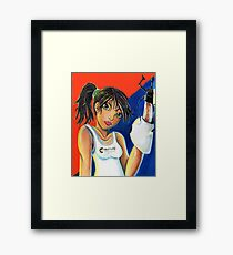 She's Had It! Framed Print