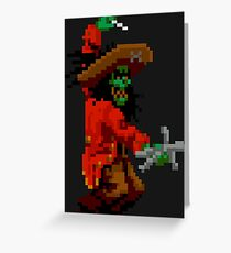 LeChuck & voodoo doll Greeting Card