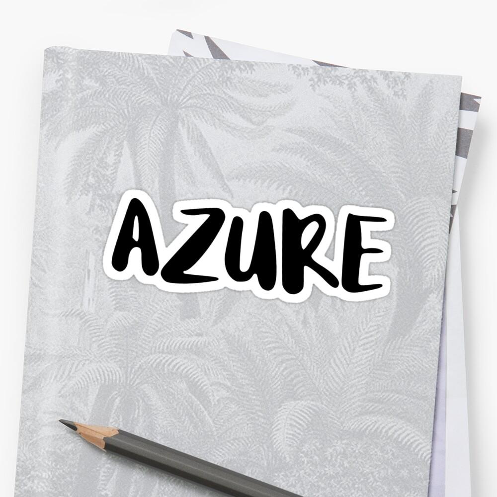 AZURE by FTML