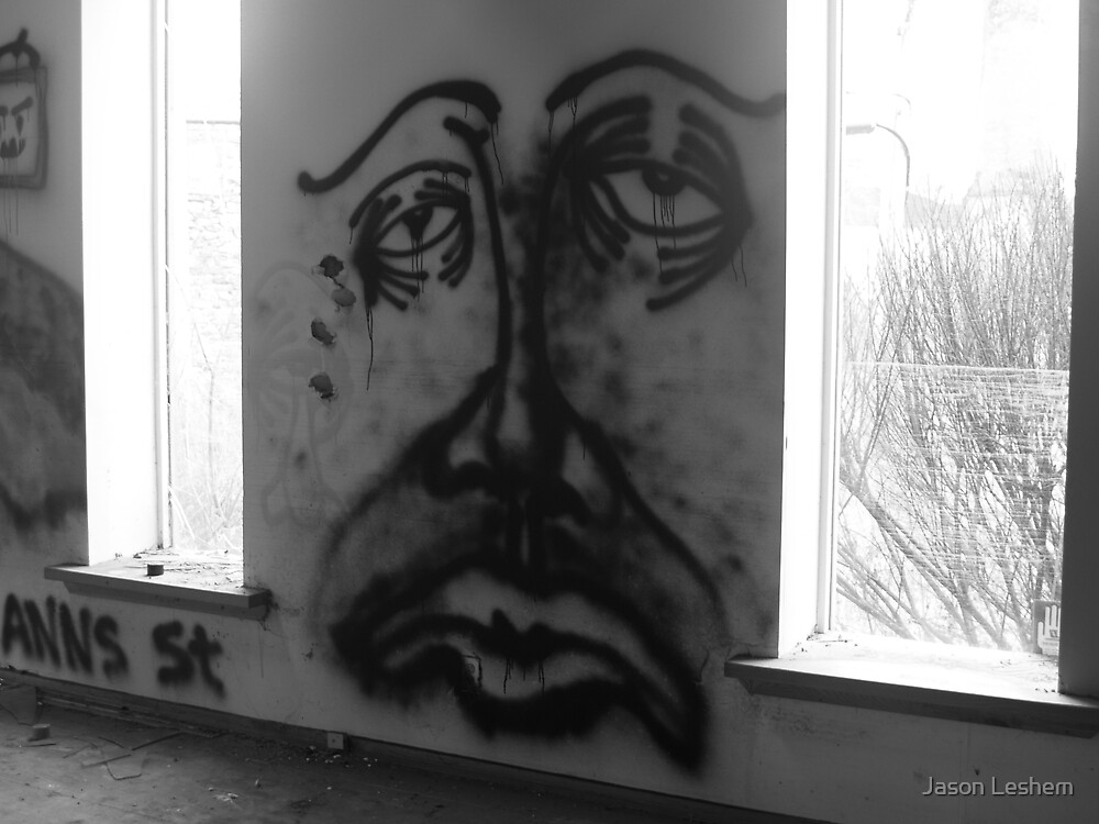 Sad Face by Jason Leshem