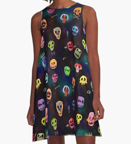 Alas, poor Yoricks!  A-Line Dress