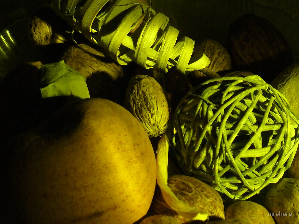 Bowl of Fake Fruit by mrehere