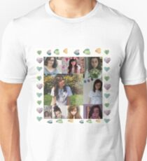 Dodie Clark - Heart Border Collage Unisex T-Shirt