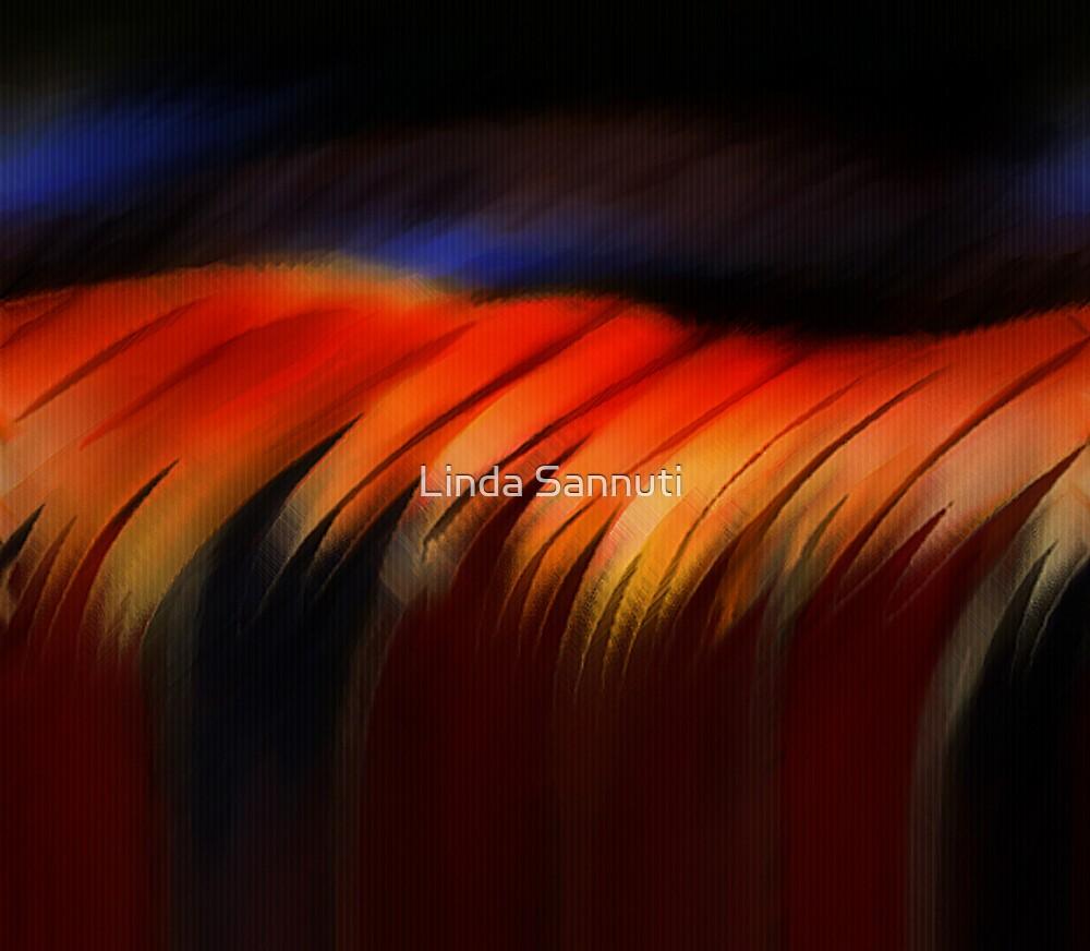 red wave  by Linda Sannuti