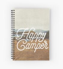 HAPPY CAMPER Spiral Notebook