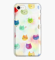 Cat confetti iPhone Case/Skin