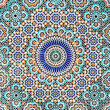 Persian Ceramic Design 55 by SilkMinds