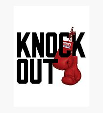 KNOCKOUT. Photographic Print