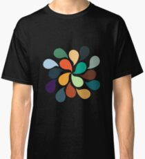 Colorful Water Drops Classic T-Shirt