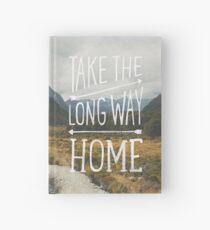 TAKE THE LONG WAY Hardcover Journal