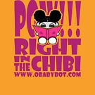 POW!!! Right in the Chibi: JoJo Loves to Read! O'BABYBOT Toy Robot 1.0 by Carbon-Fibre Media
