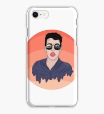 Coachella glasses -Wes Tucker  iPhone Case/Skin