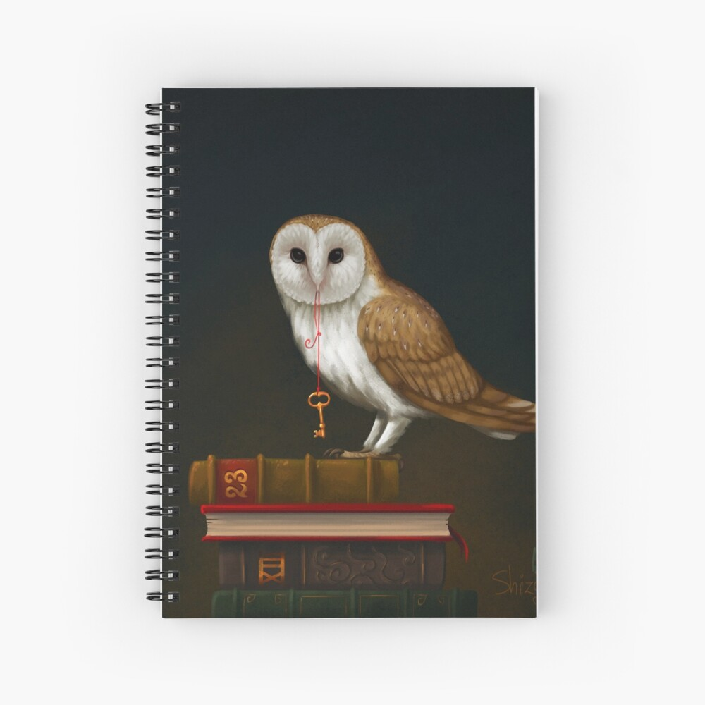 Key to Knowledge Spiral Notebook