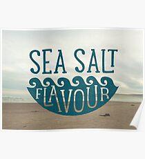SEA SALT FLAVOUR Poster
