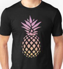 Camiseta ajustada Puesta de sol de piña