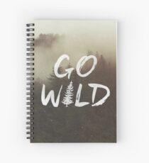 Go Wild Spiral Notebook