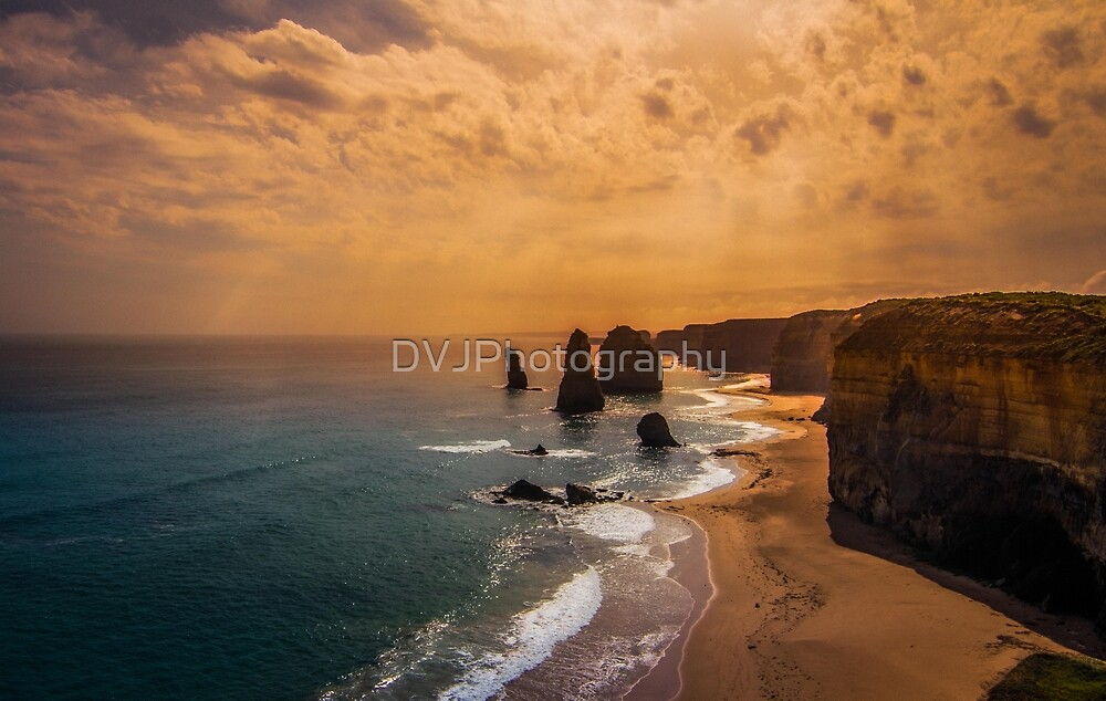 The Twelve Apostles by DVJPhotography