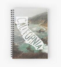 California Spiral Notebook