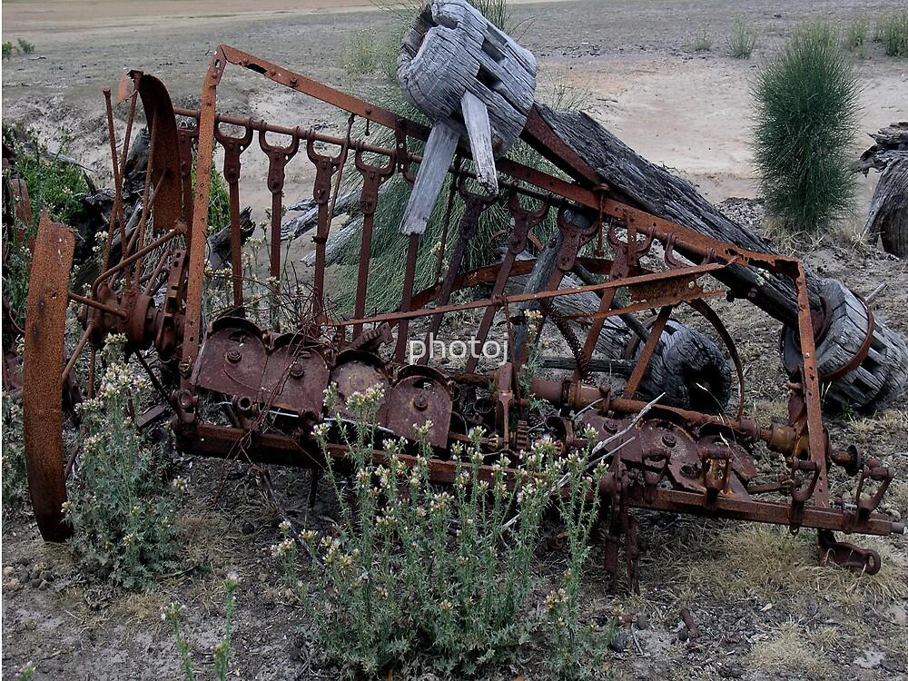 photoj Rusty Farm Machine by photoj