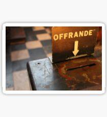 Offrande Sticker