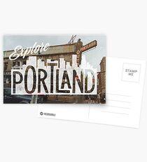 Postales Explora Portland