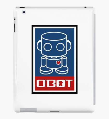 O'BOTs Spread Love 2.0 iPad Case/Skin