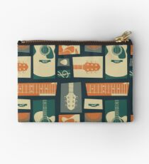 Guitar Collage Studio Pouch